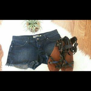 Roxy Dark Denim shorts